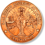 Seal of the San Diego District Attorney