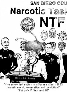 Bonnie Dumanis' Narcotic Task Force for Medical Marijuana