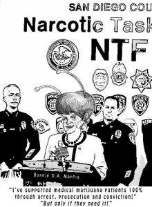 Bonnie Dumanis' Narcotic Task Force for Medical Marijuana